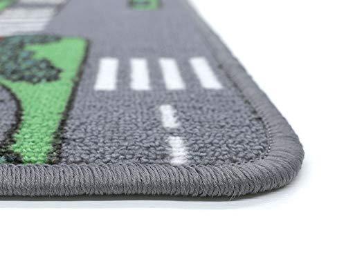 HEVO Auto Teppich Kinder Strassen Spielteppich | Kinderteppich 145×200 cm - 4