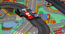 Beispiel Straßenteppich im Spielteppich Test